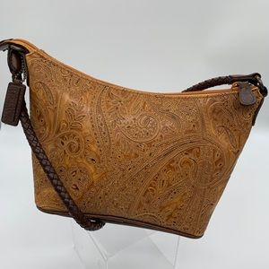 Relic - Paisley Embossed Tooled Faux Leather Purse